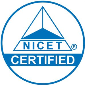 We Support and Encourage<br> NICET Certification